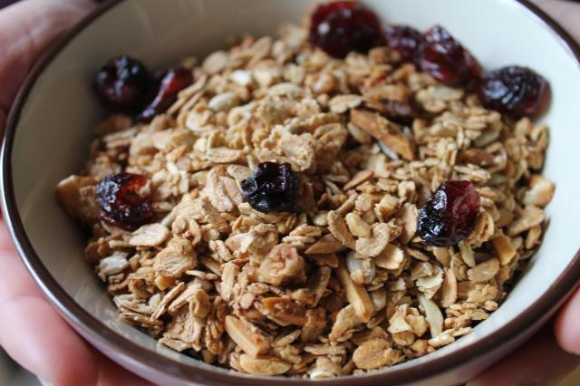 Granola_Cranberries_1