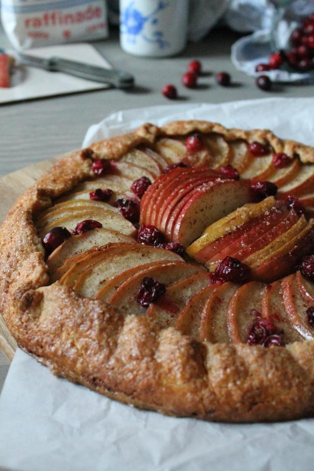Galette_Apfel_Cranberry
